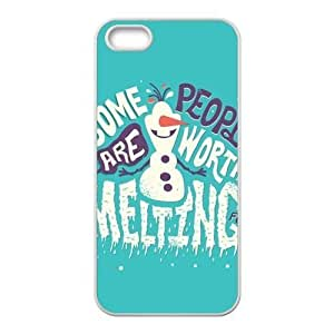 RMGT Frozen Snowman Olaf Cell Phone Case for Iphone ipod touch4