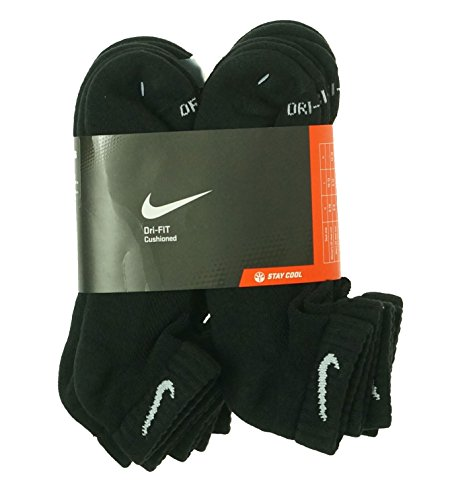 Nike Men's Dri-Fit Cushioned Low-Cut Socks Large (shoe si...