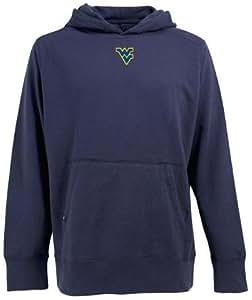 West Virginia Signature Hooded Sweatshirt (Team Color) - Small