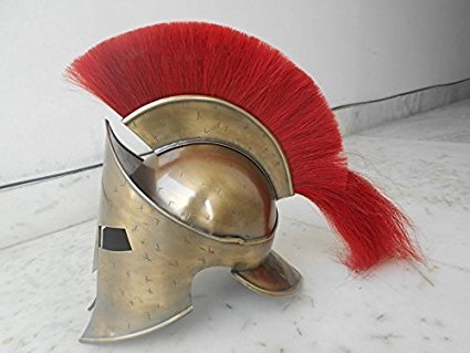 King Leonidas 300 Greek Spartan Trojan Warrior Helmet BRAND NEW by THORINSTRUMENTS