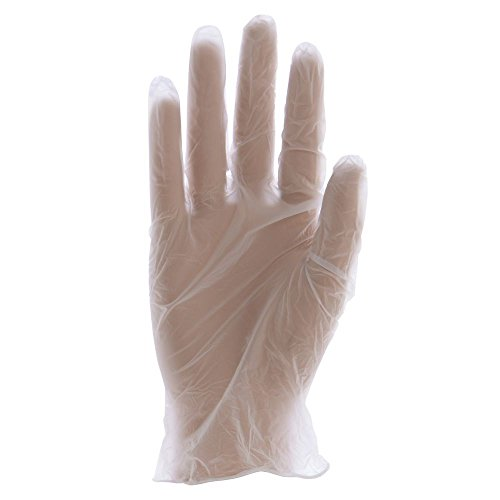 Bunzl oneSAFE Clear Nitrile Powder-Free Disposable Gloves - Extra Large by INNO-PAK