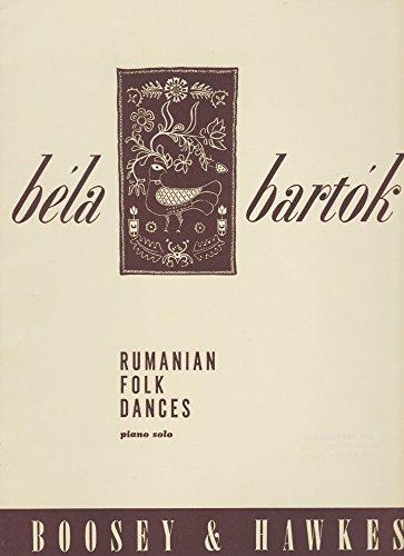 Rumanian Folk Dances (Piano Solo) - Rumanian Dances
