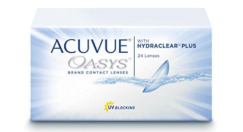 Acuvue Oasys 2-Wochenlinsen weich, 24 Stück / BC 8.4 mm / DIA 14 mm / -1.75 Dioptrien