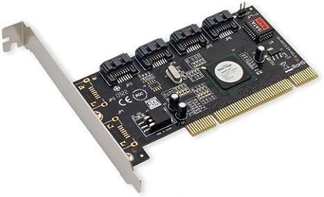Amazon.com: IOCrest SATA II 4 x PCI RAID Host Controller Card SY-PCI40010:  Electronics