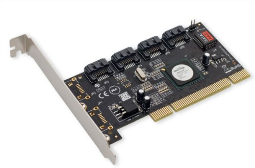 (IOCrest SATA II 4 x PCI RAID Host Controller Card SY-PCI40010)