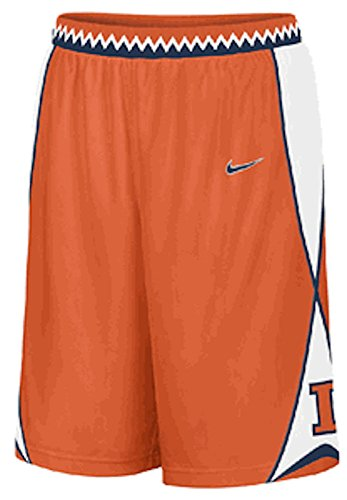 (Illinois Fighting Illini Embroidered Player Basketball Shorts)