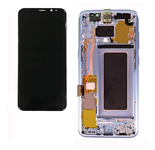 Galaxy S8 5.8inch LCD Display Digitizer Touch Screen Assembly for All Models (G950 G950A G950T G950V) by Mr Repair Parts (for Phone Repair) (Silver) by Rita-LC