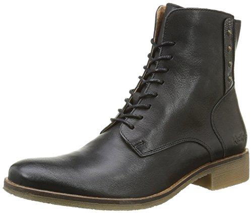 Kickers Damen Life Klassische Stiefel Noir (Noir Argent)