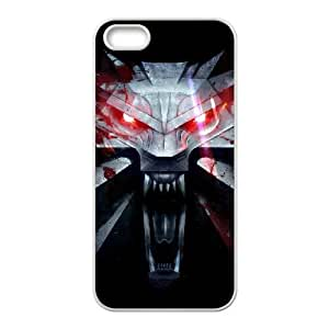 The Witcher3 Wild Hunt iPhone 5 5s Cell Phone Case White MSY177616AEW
