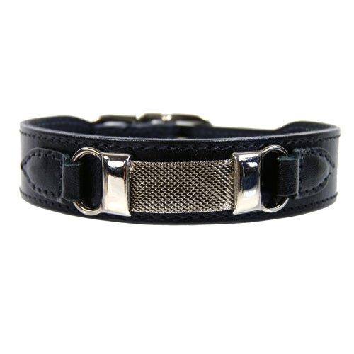 hartman-rose-barclay-dog-collar-14-to-16-inch-black