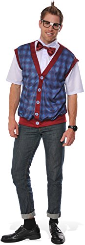 Rubie's Men's Nerd Male Costume, As As Shown, Standard -