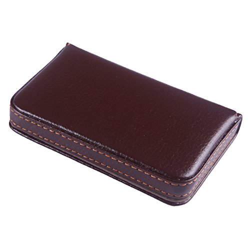HDE Leather Business Credit Magnetic