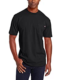 Mens Short Sleeve Heavyweight Crew Neck 100% Soft Cotton Jersey Knit