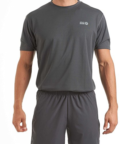 Active Run Tee - time to run Men's Favourite Short Sleeve Running/Gym.Workout/Fitness T Shirt Top Large 42