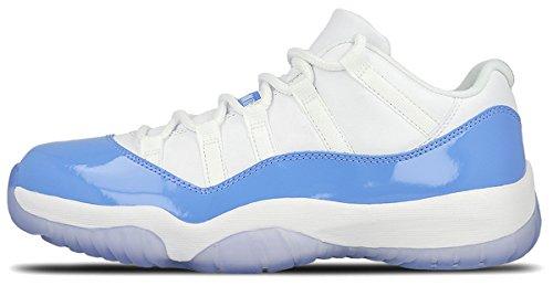 Air Jordan 11 Retro Low UNC Columbia Men Lifestyle Sneakers New White