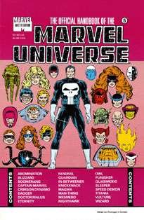 Official Handbook of The Marvel Universe Master Edition #5
