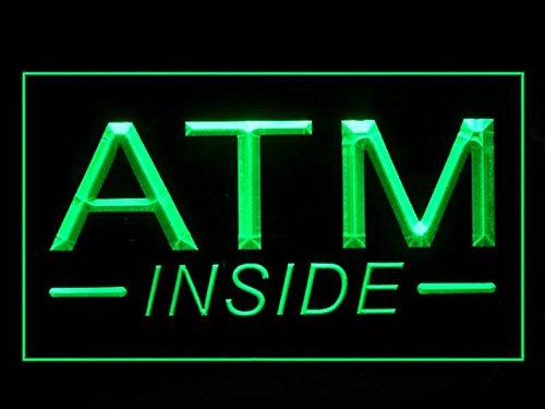 Amazon.com: C B signos ATM dentro letrero de LED luz de neón ...