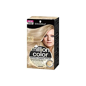 Haarfarbe Schwarzkopf Million Color 10-1 Ultra-Blond: Amazon.de: Beauty