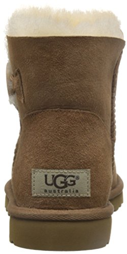 W's Button Femme Marron Bailey Ugg Mini Button tr sw980 Boots qO4THBw