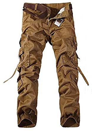 Brown Cargo Trousers Pant For Men