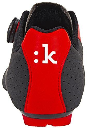 Zapatillas Carretera Fizi:k R5B Negro-Rojo - Talla: 44