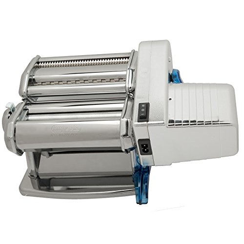 Imperia Pasta Machine and Motor by Cucina Pro (152) - Dual Speed with Double Cutter