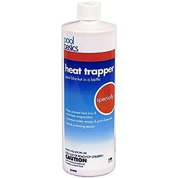 Pool Basics 2706PB Heat Trapper Pool Solar Blanket In A Bottle Liquid Solar Cover, 1-Quart, 1-Pack