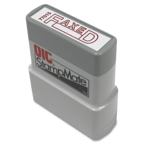 OfficemateOIC Office Pre-Inked Message Stamp,