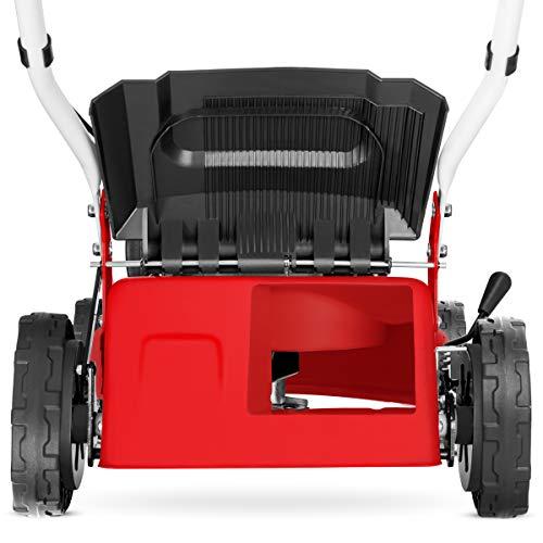Greencut GLM690SX - Cortacésped autopropulsado con motor de gasolina de 139cc y 5cv y arranque manual Easy-start, con un ancho de corte de 407mm (o ...