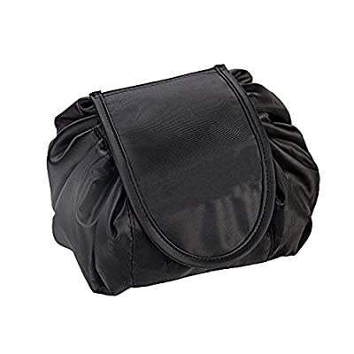e5978c0f7d4d VPAL Lazy Makeup Bag Toiletry Cosmetic Bag Drawstring Makeup Storage  Organizer Travel Case for Women Girls