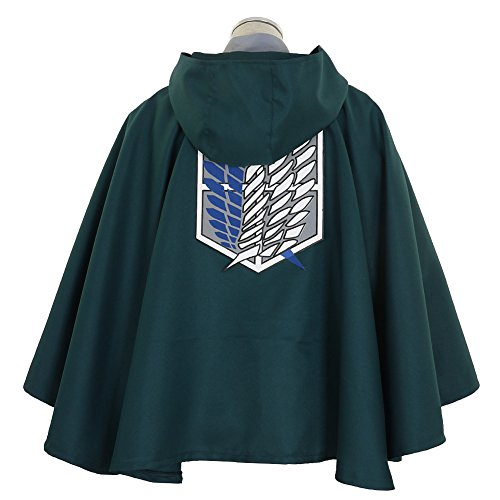 CG Costume Women's Attack on Titan Survey Corps Cape Cosplay Costume (Aot Cosplay Costume)