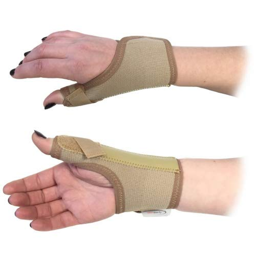 BODYMEDICS PROFESSIONAL ELASTICATED RIGHT HAND SMALL THUMB SPICA SCAPHOID SPLINT WRIST SUPPORT by Talar Made -
