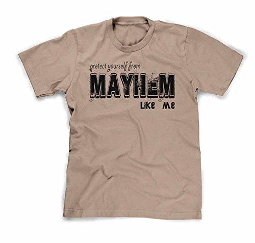 Funhouse Tshirts Men's Mayhem Like Me T-Shirt Large - Allstate Mayhem