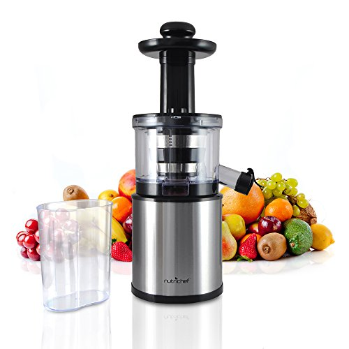 Healthy Slow Juicer Recipes : NutriChef Healthy Low Heat vitamin Preserving Masticating ...