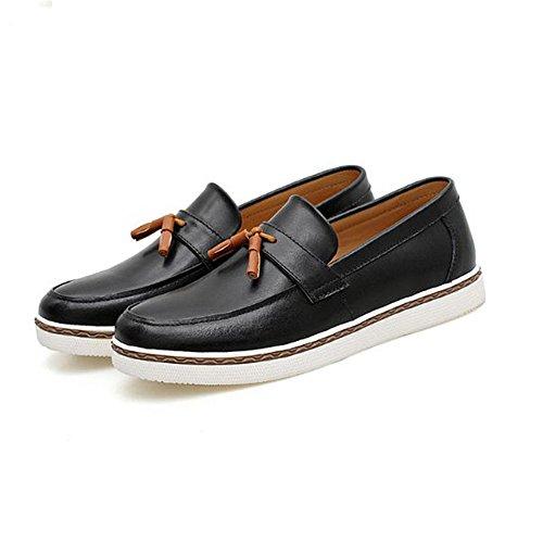jóvenes Aire Negro para medianos al Zapatos para Ocasionales Libre Hombres Zapatos Hombre para ZxTBx