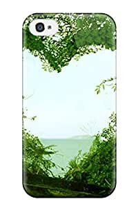 Iphone 4/4s Case Cover - Slim Fit Tpu Protector Shock Absorbent Case (beautiful S )