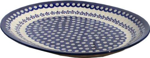 Polish Pottery Large Serving Platter Zaklady Ceramiczne Boleslawiec 1007-166a by Polish Pottery Market