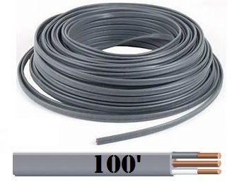Marmon Home Improvement Prod 138-1602Cr 100-Ft. 12/2 Underground Feeder Cable With Ground Nm-B Romex & Uf Cable-Cut Lengths