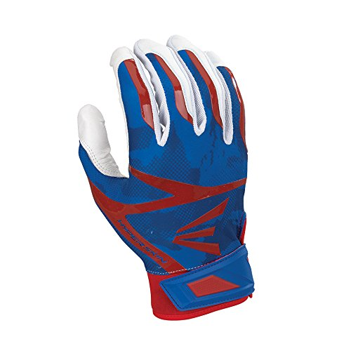 Easton Z7 Hyperskin バッティンググローブ 1組 B01ITDXTZC Small|White/Red/Royal White/Red/Royal Small