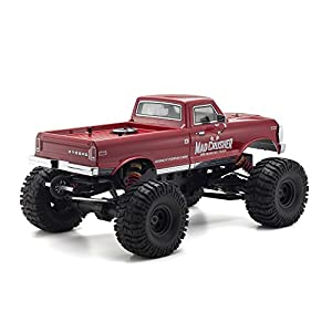 Kyosho Mad Crusher GP 4WD Nitro Powered RC Truck, Red, 1: 8-Scale