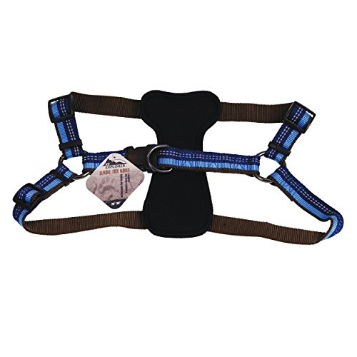 "Coastal Pet Products DCP36945SAP K9 Explorer 1-Inch Harness for Dogs, 20""-30"" girth, Blue"