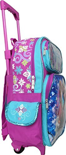 60c921d542a2 Disney Frozen Elsa Anna Oalf 16 inches Large Rolling Backpack