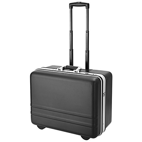 Binxin Tool Box Watertight Hard Rugged Carry On Case Suitcase Locking Stackable with Handle (Black) by Binxin
