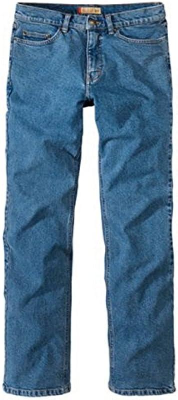 Paddocks`s Męskie Jeans Ranger - Slim Fit - Blau - Stone wash: Odzież