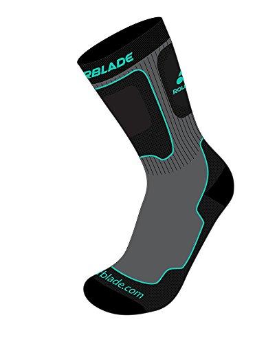 rollerblade-womens-high-performance-skating-socks-grey-green-medium-us-8-10