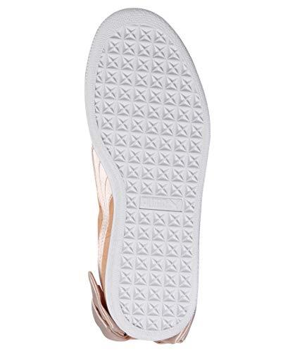 Corallo Suede Sneakers Puma 07 Wn's 367317 Corallo Bow Bianco 38 TCzfzFwqn