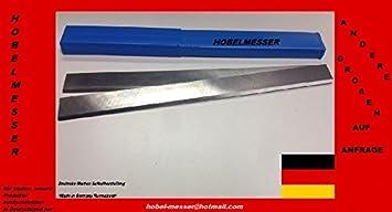 2 Stück Hobelmesser für Scheppach 260 x 18 x 3 mm HSS 18 /%