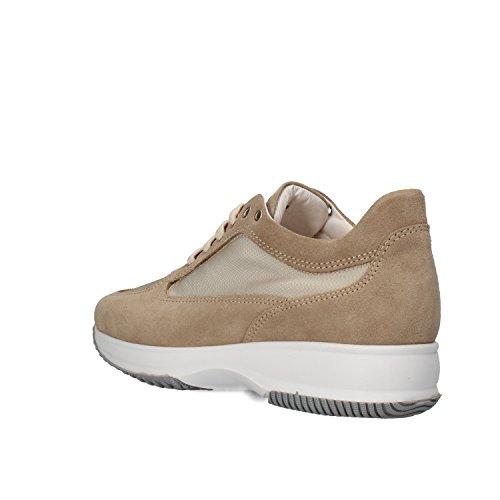Beige Donna Scamosciata Saben Shoes Pelle Sneaker xqYSz1p