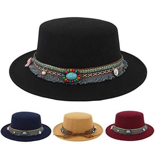 Men Women Timelessly Classic Structured Fedora Hat Plaid Design Short Brim