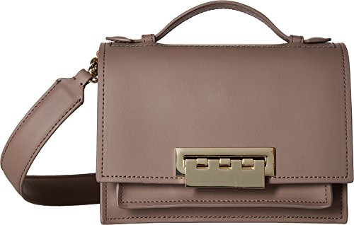 ZAC Zac Posen Women's Earthette Accordian Shoulder Bag Ash One Size by ZAC Zac Posen